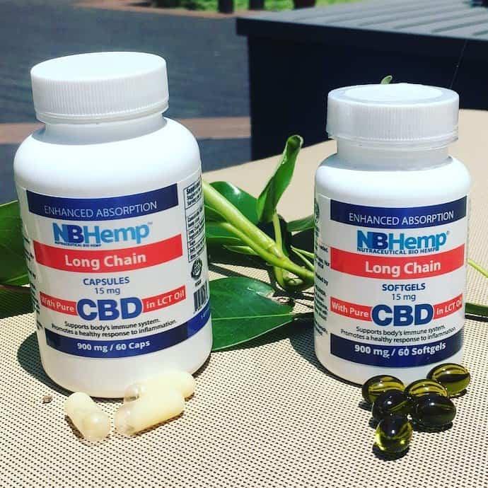 NB Hemp CBD capsules