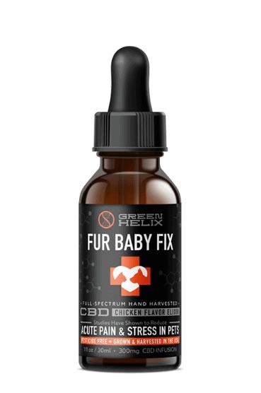 Green Helix Fur Baby Fix