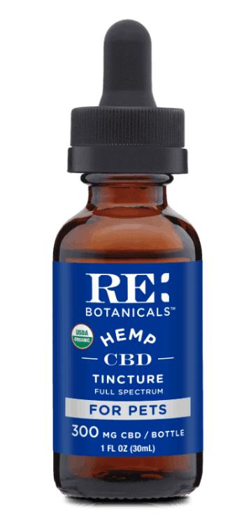 Re:botanicals CBD tincture for pets