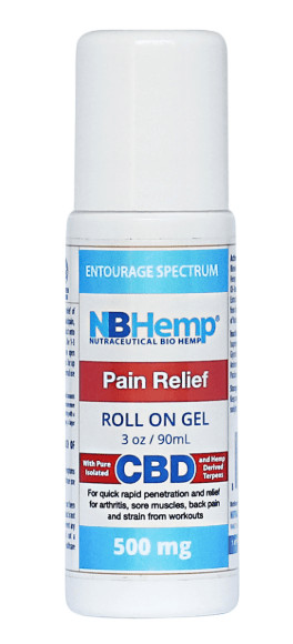 NB Hemp Pain Relief Roll On Gel