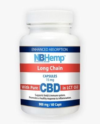 NB Hemp Long Chain CBD Capsules