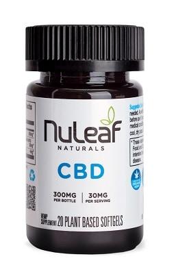 NuLeaf Full Spectrum Hemp CBD Capsules