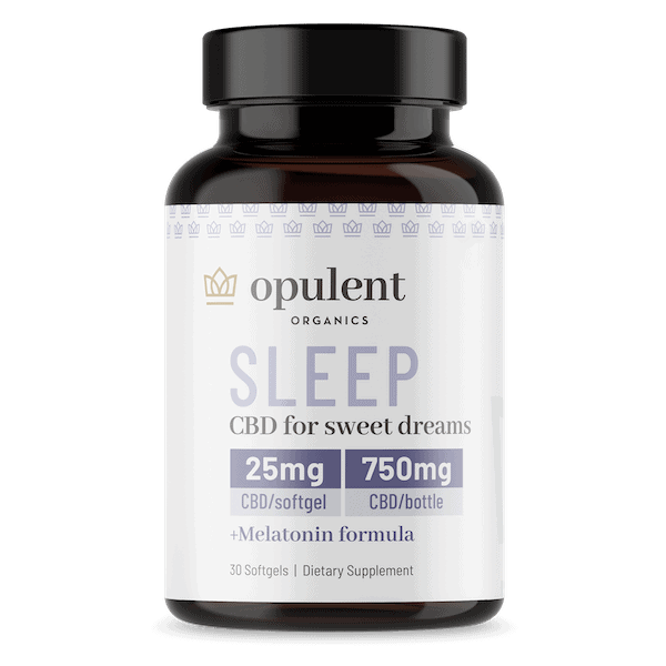 Opulent Organics Sleep Softgels