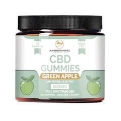 Amberwing Organics Apple gummies