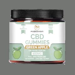Amberwing Organics Apple gummies