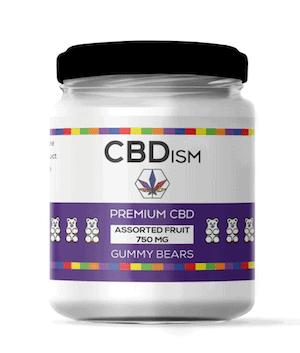 CBDism Assorted CBD gummies