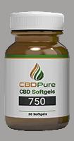 CBD Pure 750mg Soft Gels