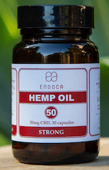 Endoca CBD Capsules Strong