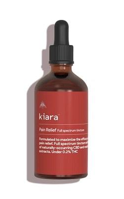 Kiara Pain Relief Full Spectrum CBD Tincture