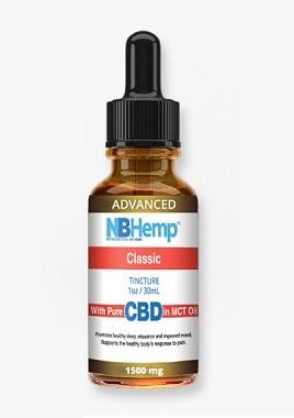NBHemp Classic CBD Oil Tincture 1500mg (Advanced)
