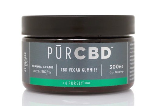 PurCBD vegan gummies