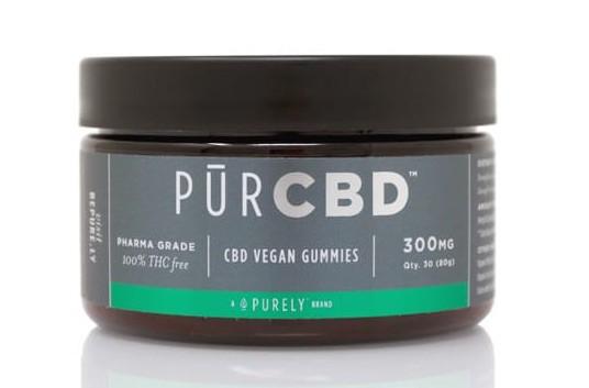 PurCBD vegan gummies