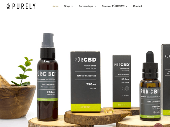 Purely CBD products