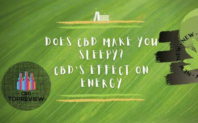 Does CBD make you sleepy post
