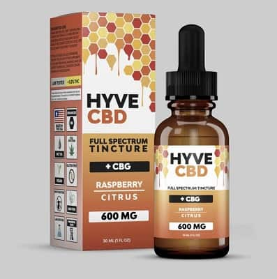 Savage CBD Hyve Full Spectrum Oil Tincture with CBG