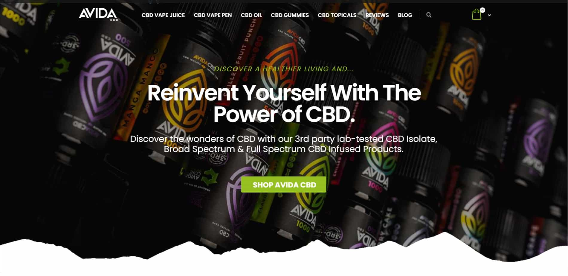 Avida CBD official website