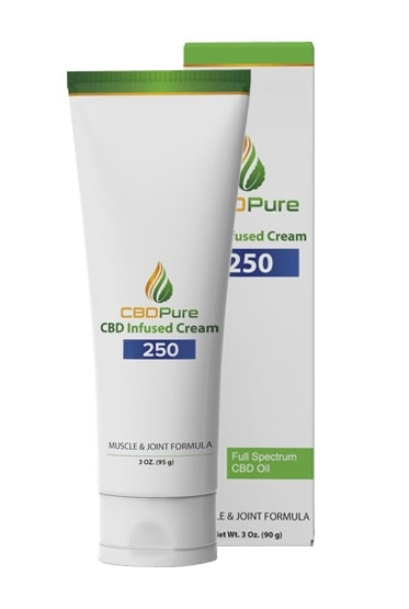 CBD Pure CBD Cream for Muscle and Join Pain