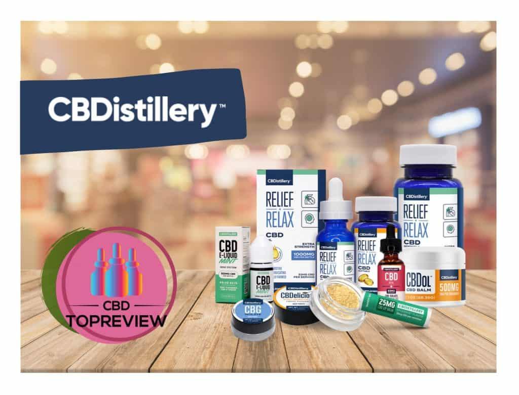 CBDistillery CBD Brand Review