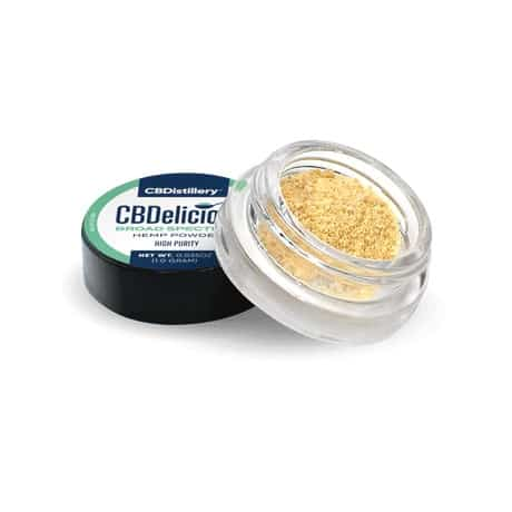 CBDistillery Broad Spectrum CBD Powder 0% THC