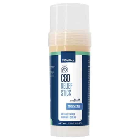 CBDistillery CBD Muscle Relief Stick 1000mg