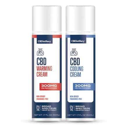 CBDistillery Warming/ Cooling CBD Cream Pack