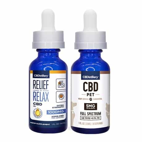 CBDistillery CBD Oil Pack