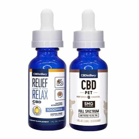 CBDistillery CBD Oil Pack