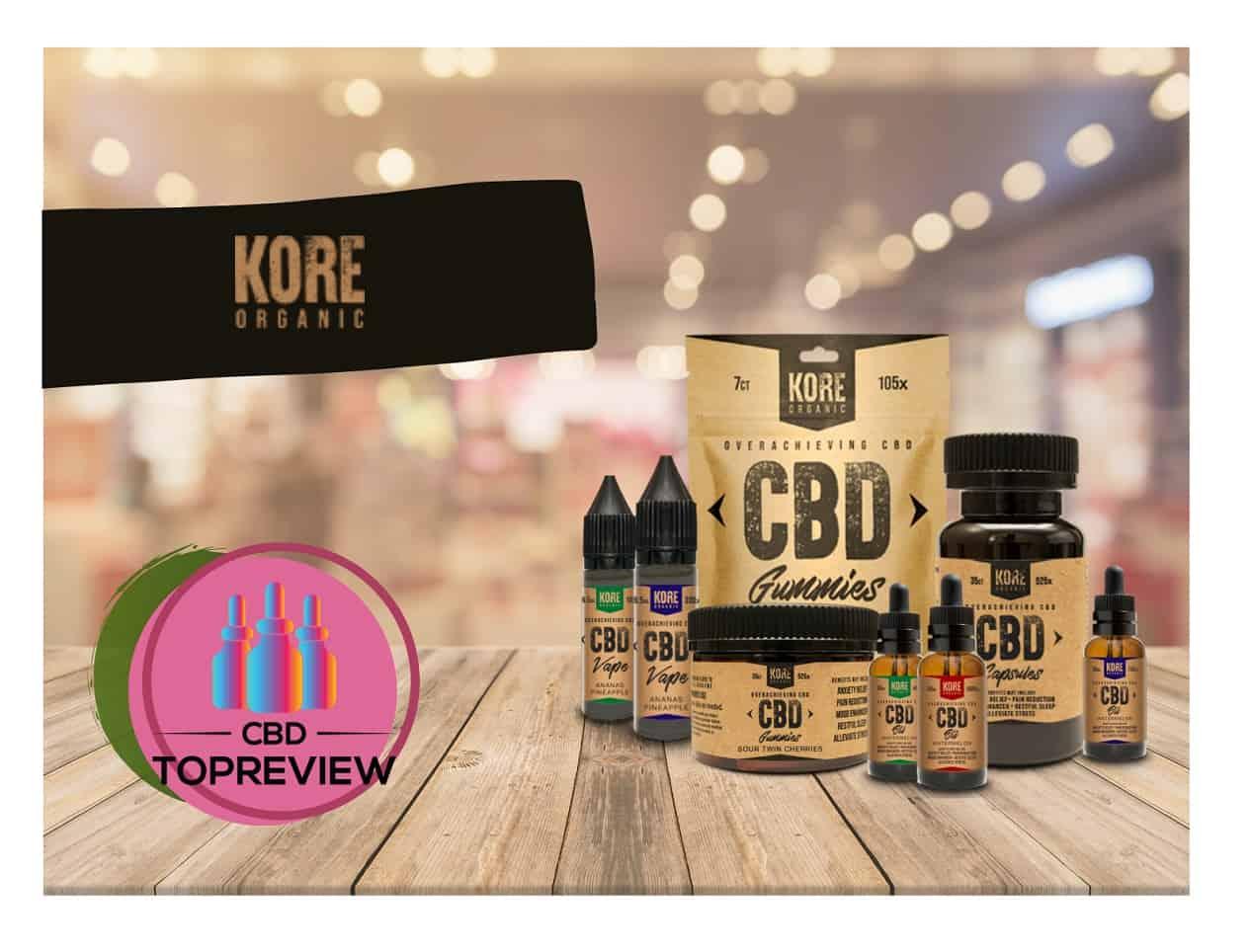 Kore Organic CBD Brand