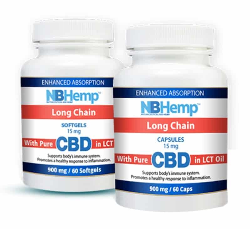 NB Hemp CBD Oil Softgels and Capsules