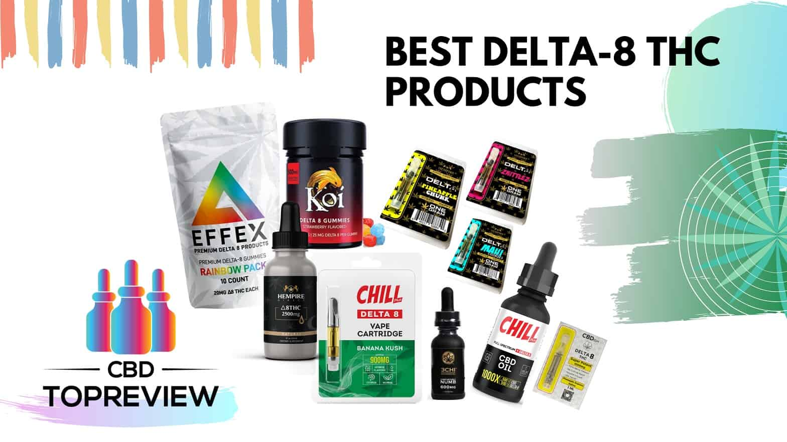 Best Delta 8 thc products