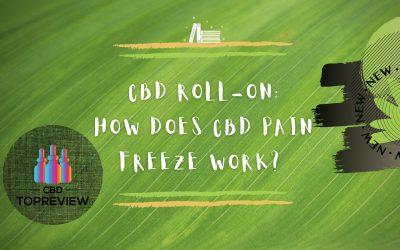 CBD Roll On How Does cbd pain freeze work