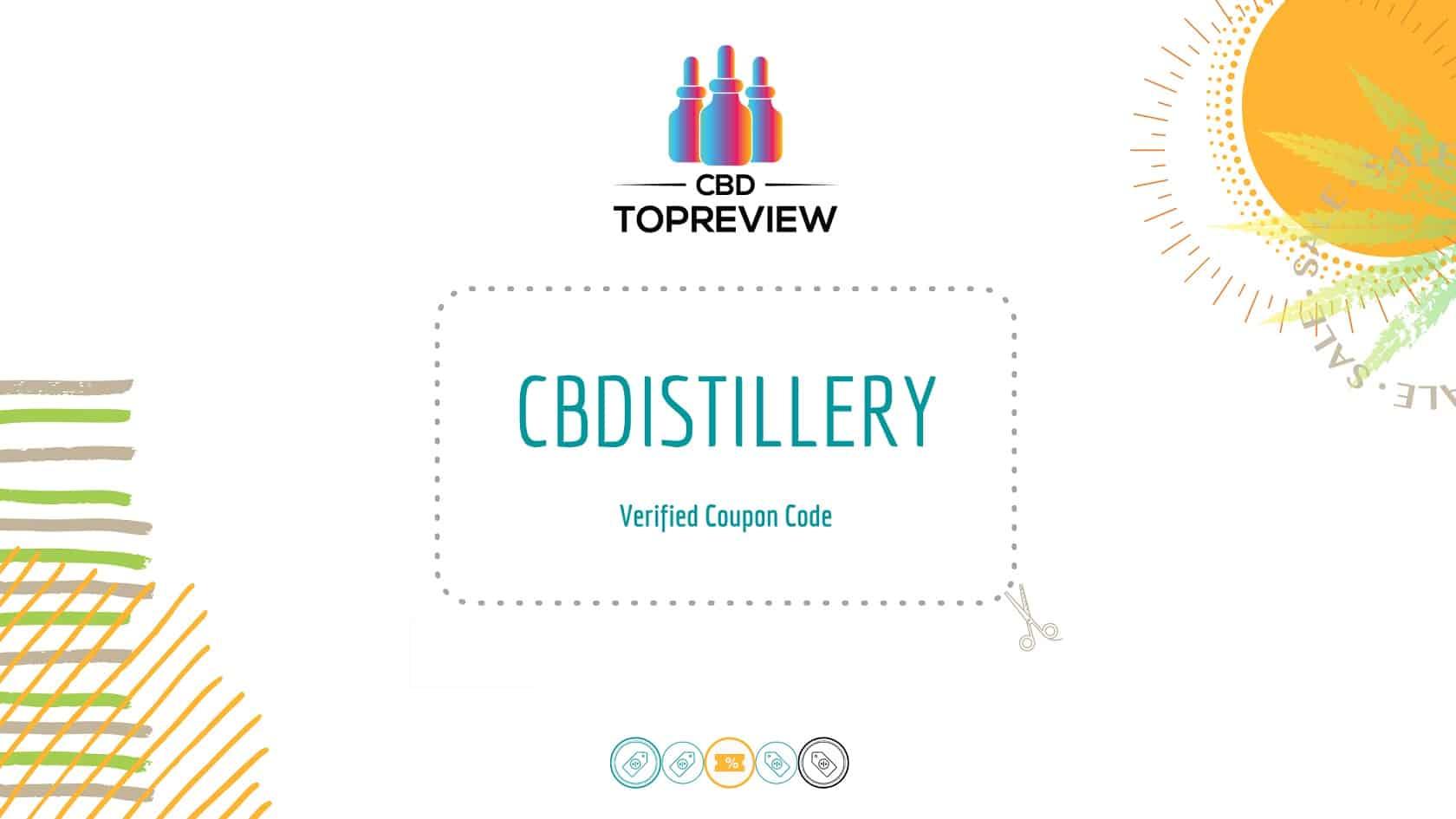 CBDistillery Verified Coupon Code