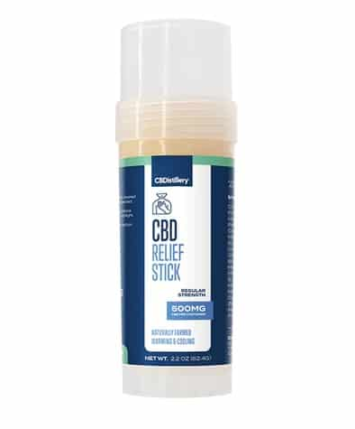CBDistillery cbd relief stick 500mg