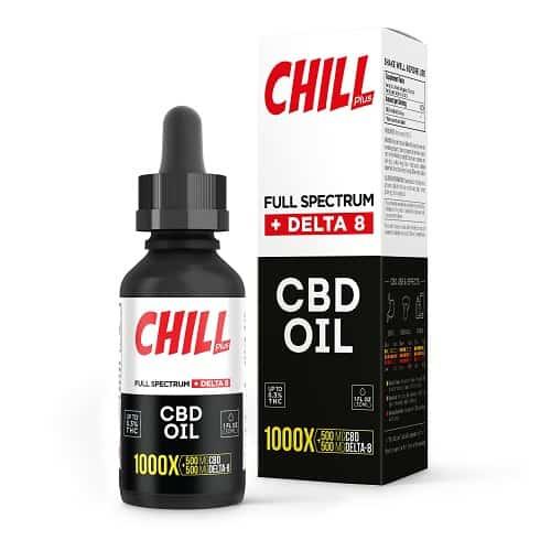 Chill Plus CBD & Delta 8 Oil