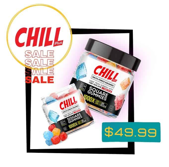 Chill Plus CBD with Delta 8 Gummies