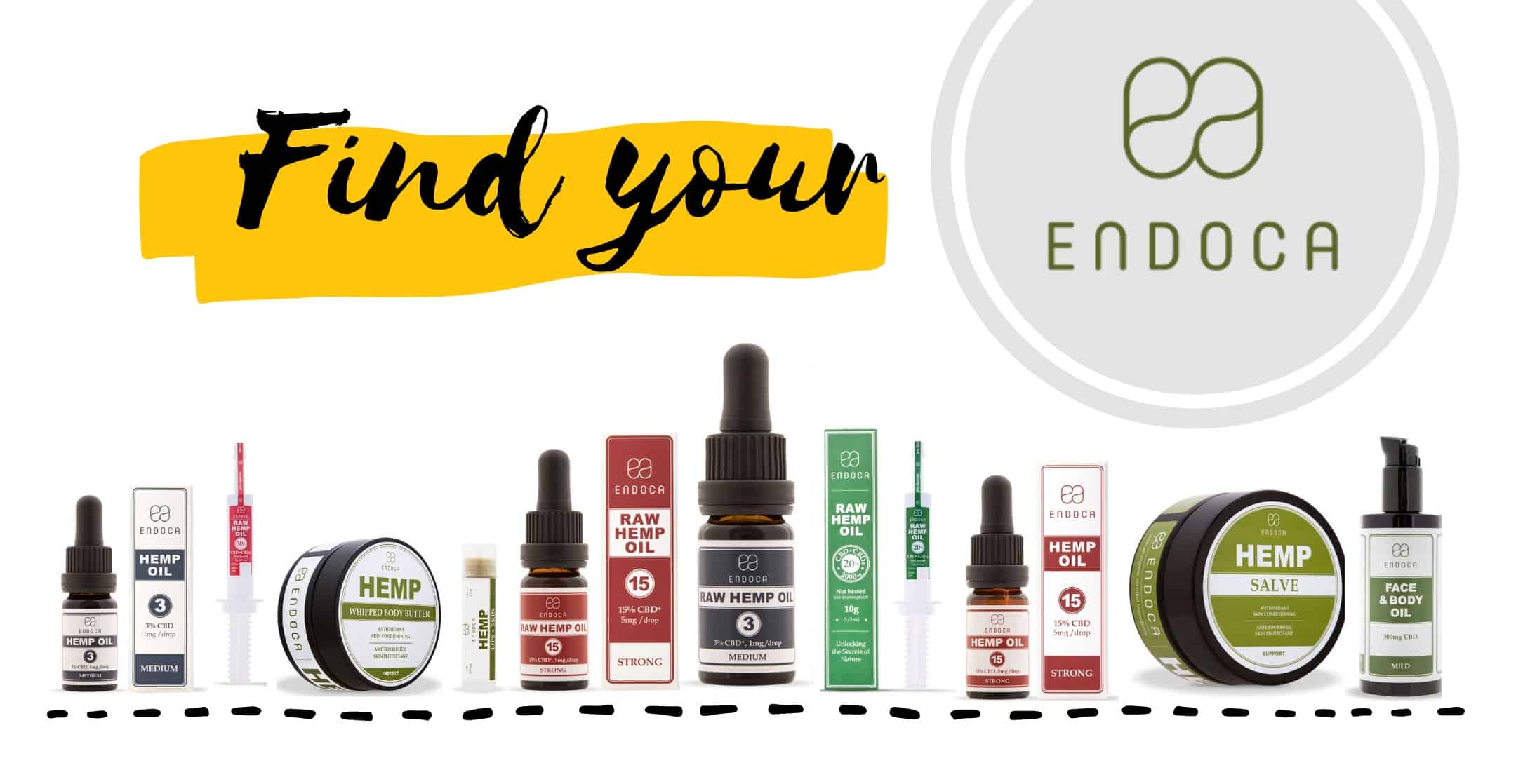 Find Endoca CBD product