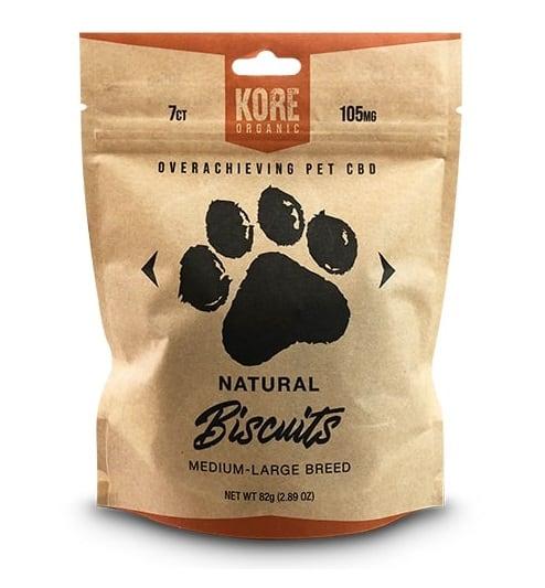 Kore Organic Dog CBD Biscuits