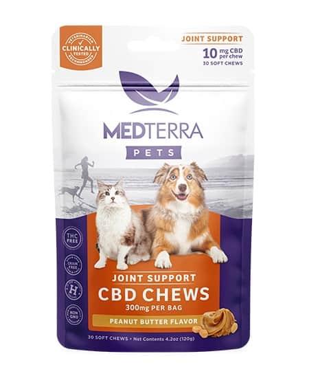 Medterra Pet CBD Joint Support Chews