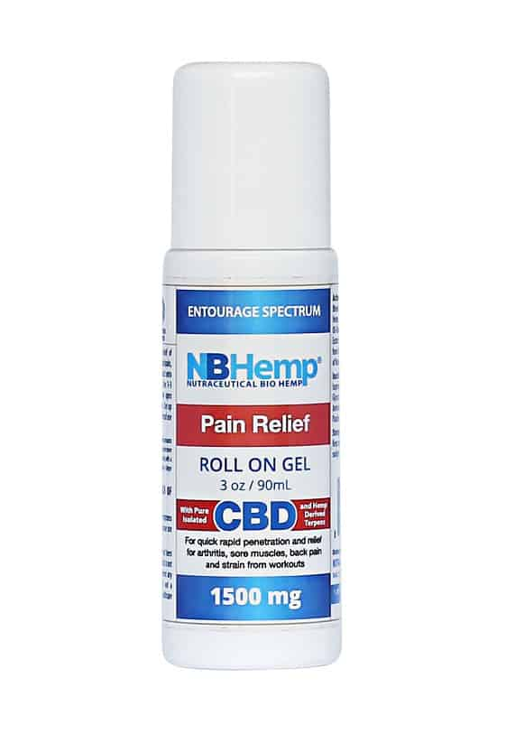 NBHemp CBD Roll On Gel 1500mg