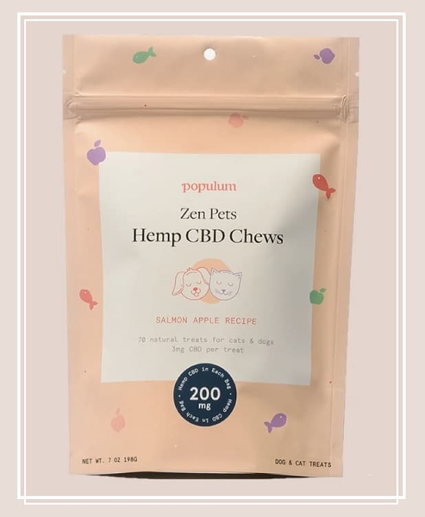 populum hemp cbd chews for dogs and cats