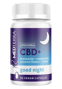 Medterra cbd + melatonin caps