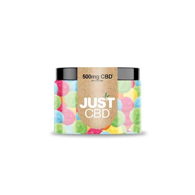 JustCBD CBD Gummies Happy face