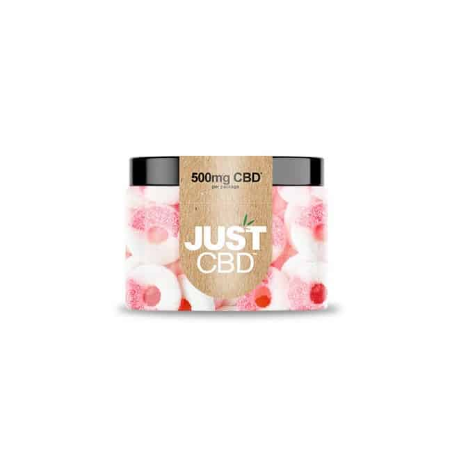 JustCBD CBD Gummies Watermelon Rings