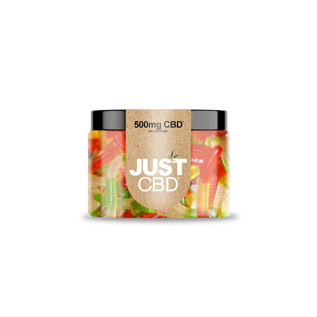 JustCBD CBD Gummies worms