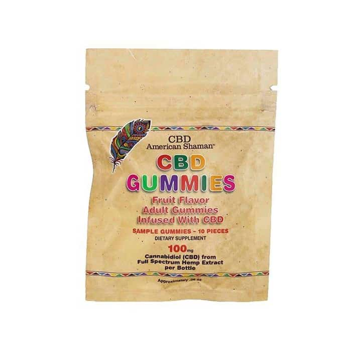 CBD American Shaman Sample Pack Gummies