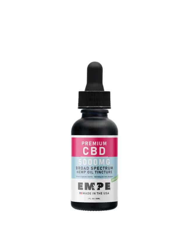 EMPE USA broad spectrum CBD tincture