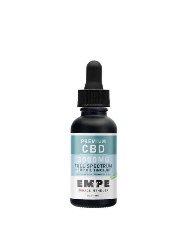 Full spectrum hemp oil tincture