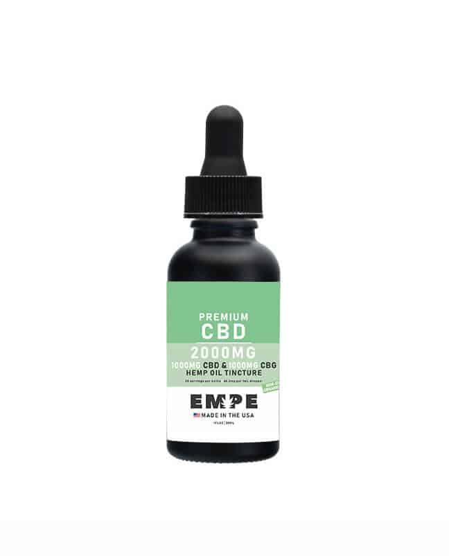 CBD+CBG tincture EMPE USA